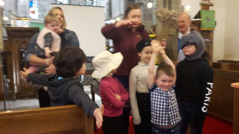 Celebrating Harvest with St John's Church, Northumberland