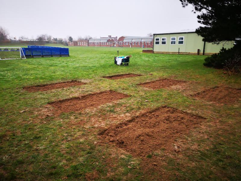 Savills dig deep to get Great Yarmouth school growing