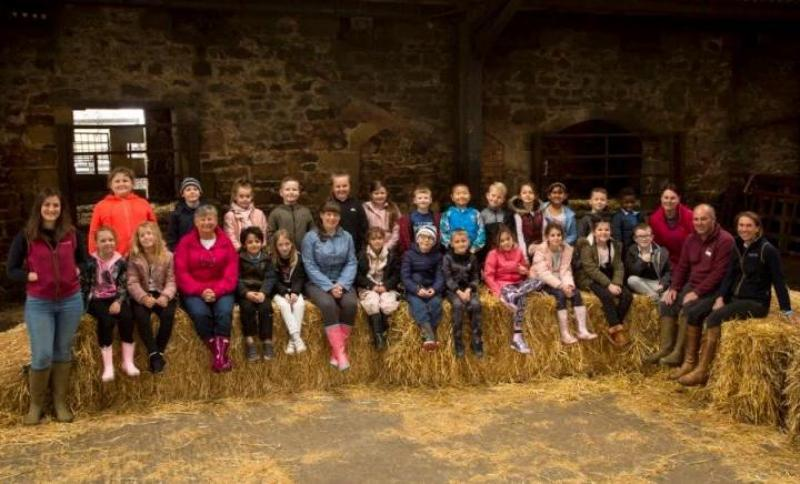 Law firm brings children to farm