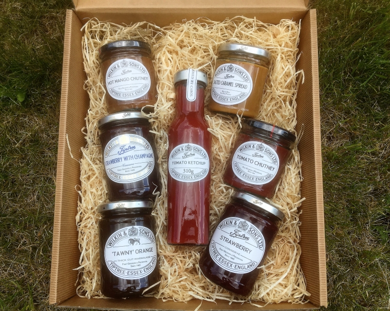 Win a fabulous box of Wilkin & Sons Ltd Tiptree preserves!